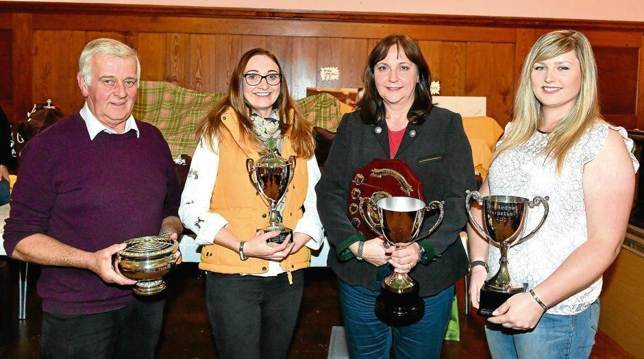 Pictured - Harry Lindsay, Kayleigh Moran, Karen Stewart, Leah Adams.