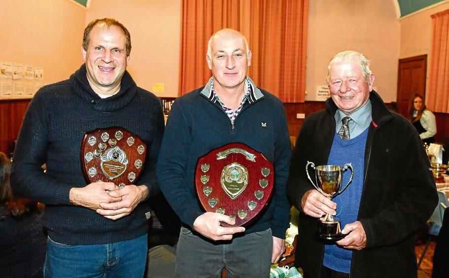 Pictured - Cameron Hay, Fraser Middleton, Dave Black.