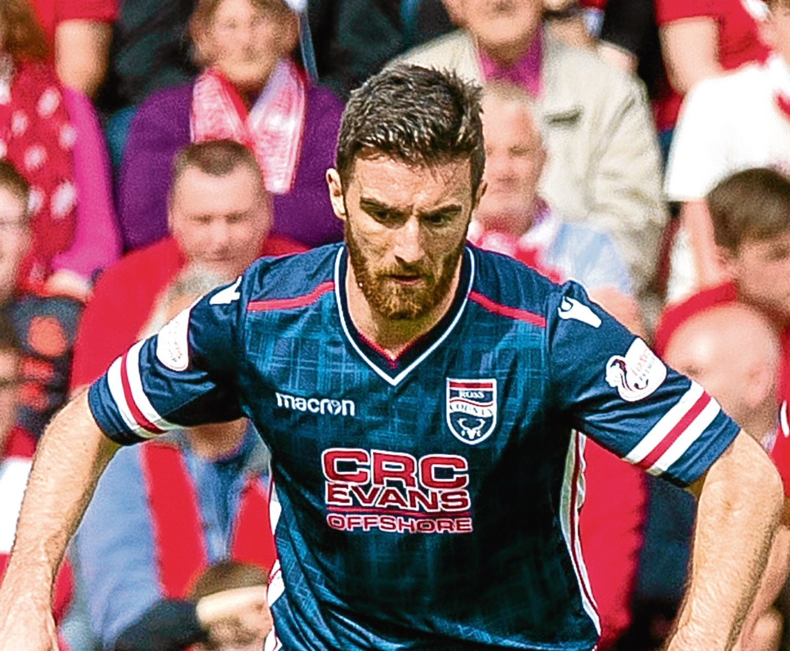 Ross Draper has signed a new contract with Ross County