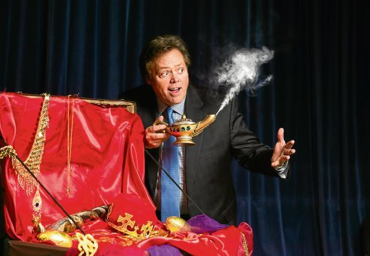 Jimmy Osmond was revealed as the new star for  this year's HMT panto Aladdin