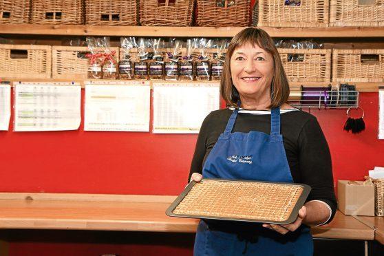 Carole Inglis of Isle of Skye Fudge Company