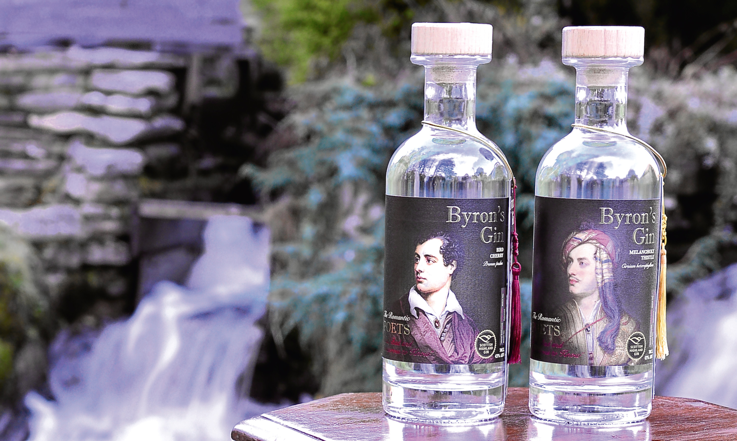 Byrons Gin from Speyside Distillery