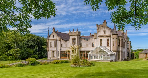 Tillycorthie Mansion House, near Ellon, which is on the market for £1.5million and is attracting interest from buyers in London and Australia.