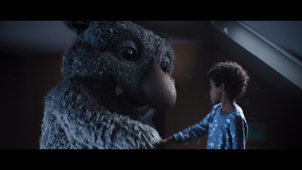 A still from the 2017 advert