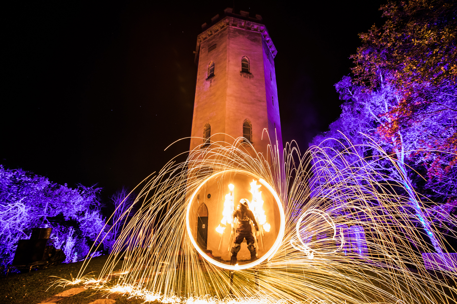 More than 14,000 people attended this year's Colours of Cluny event. Picture: Paul Campbell.