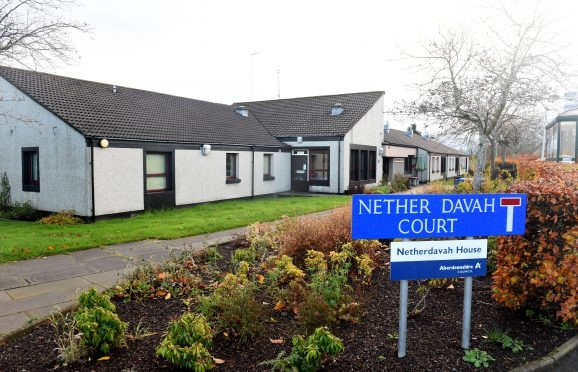 Nether Davah House, Inverurie.