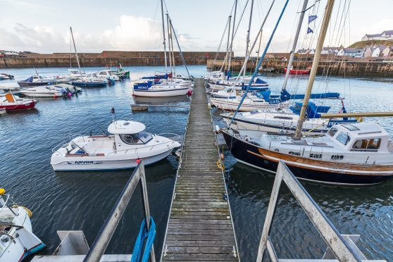 Repairs are needed at the Findochty Harbour pontoons.