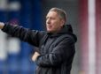 Jim McInally's side were beaten 3-0 by the Pars at East End Park.