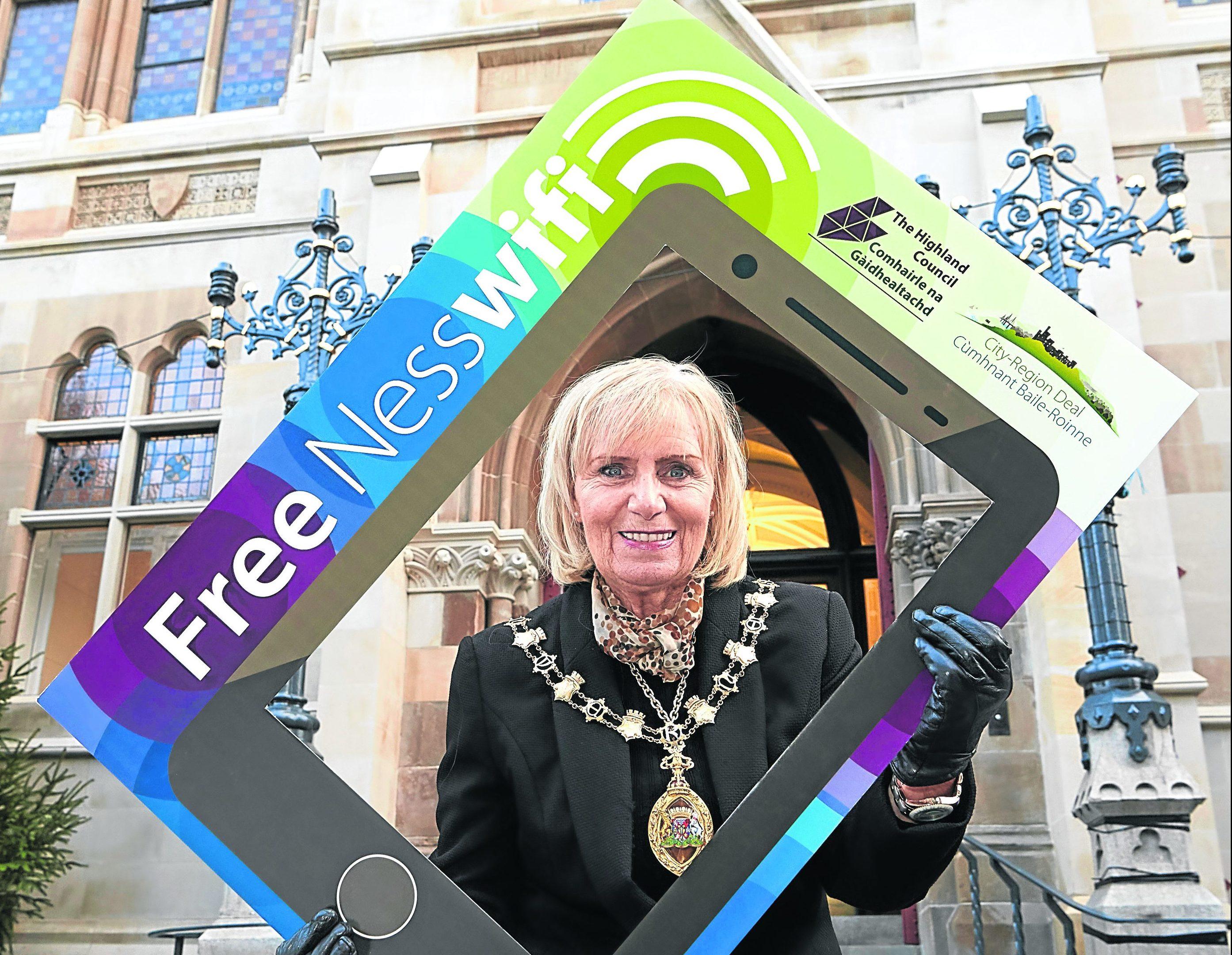 Provost Helen Carmichael.