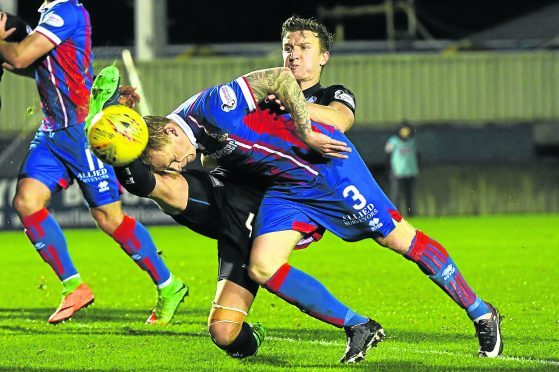 Caley Thistle defender Carl Tremarco.