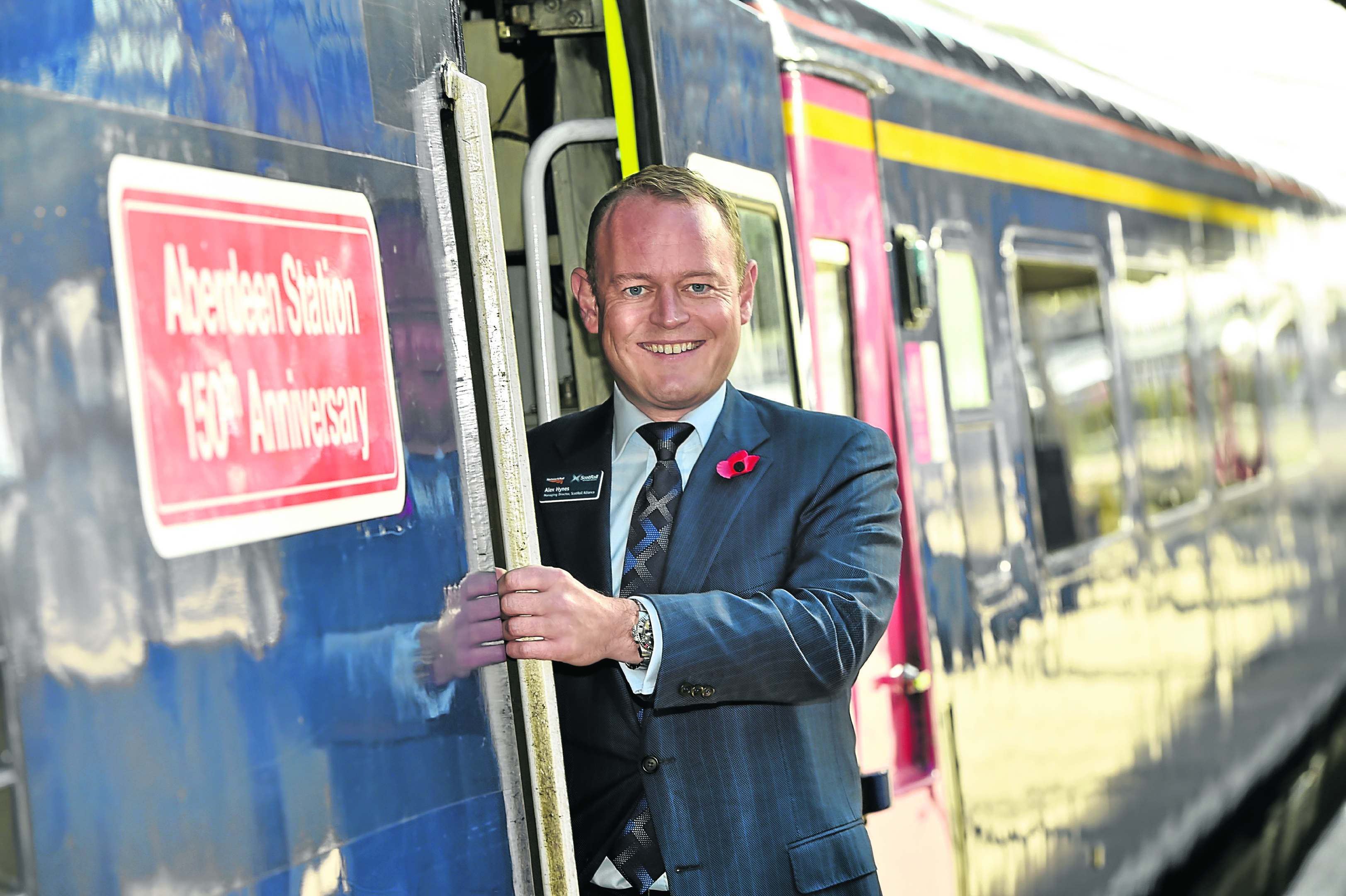 Scotrail managing director Alex Hynes.