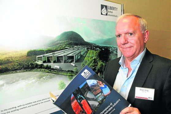 Brian King managing director of GFG Alliance's subsidiary Liberty British Aluminium