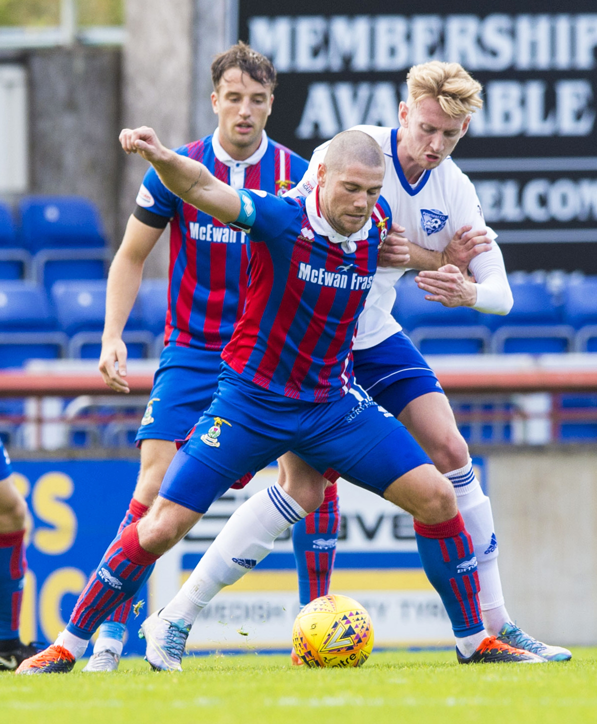 Peterhead forward Russell McLean hopes to add to his goal tally this weekend.