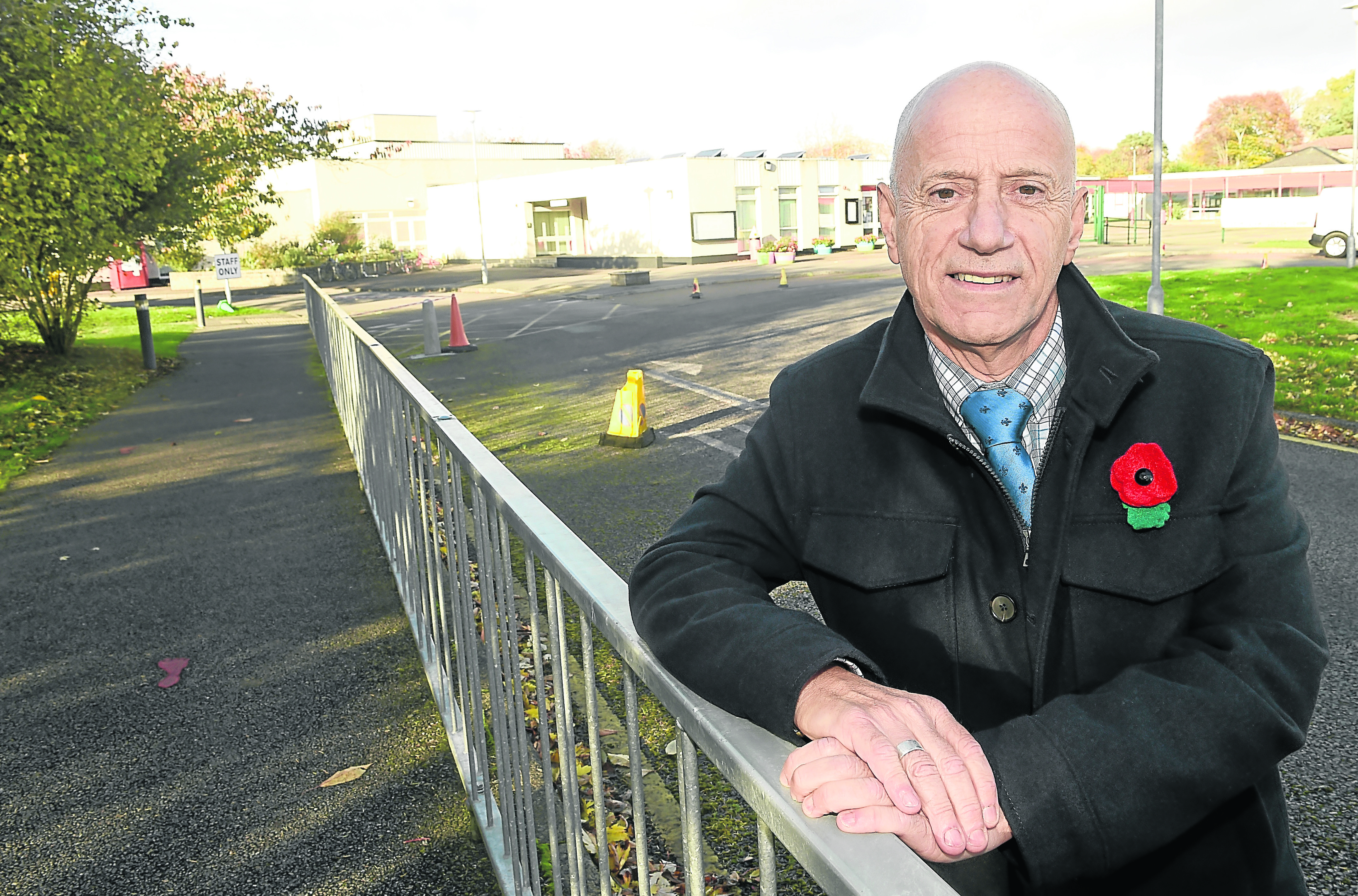 Skye Councillor John Finlayson has called for more affordable housing to address the issue. Picture by Sandy McCook