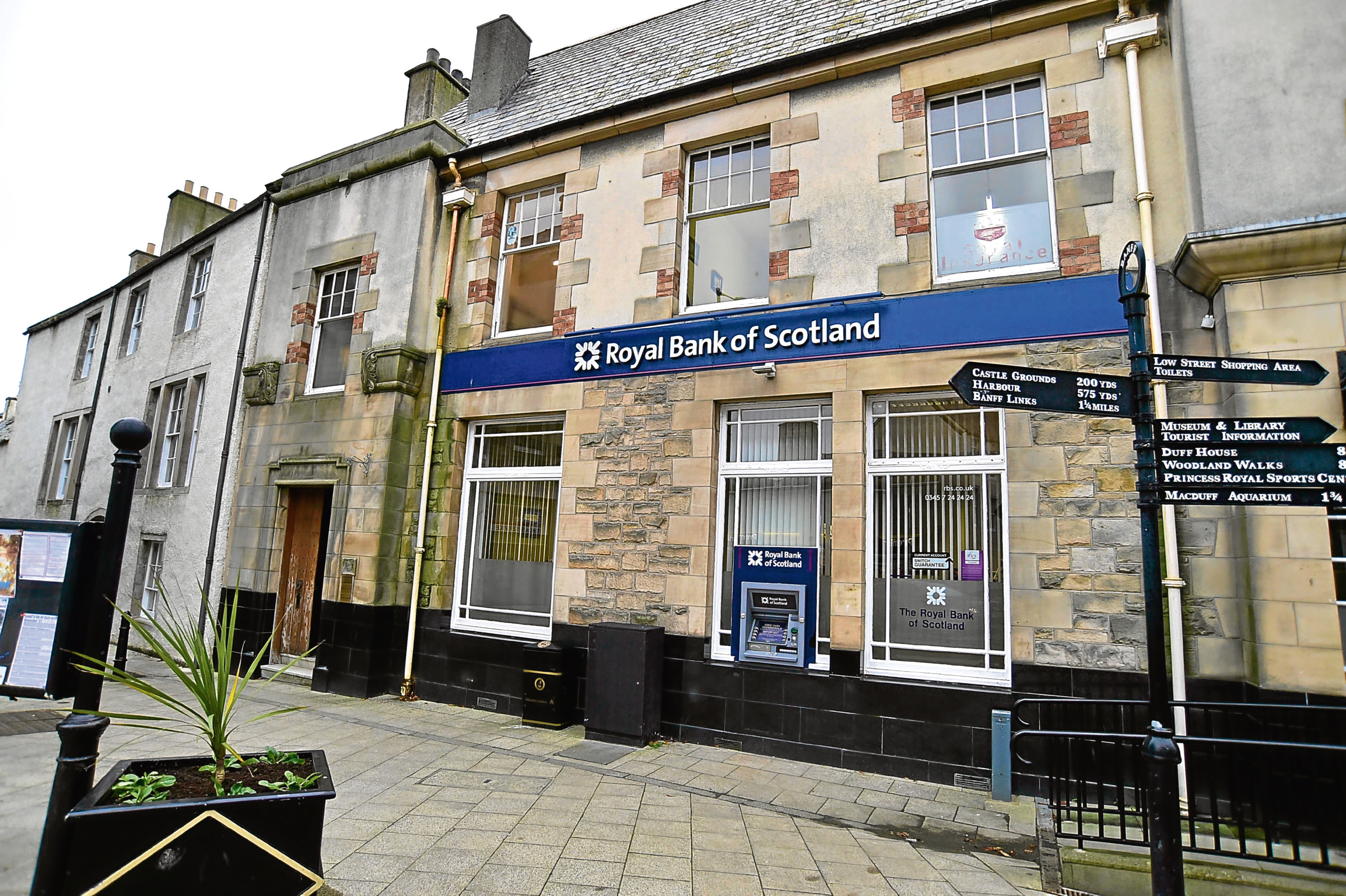RBS branch in Banff has already had to shut.