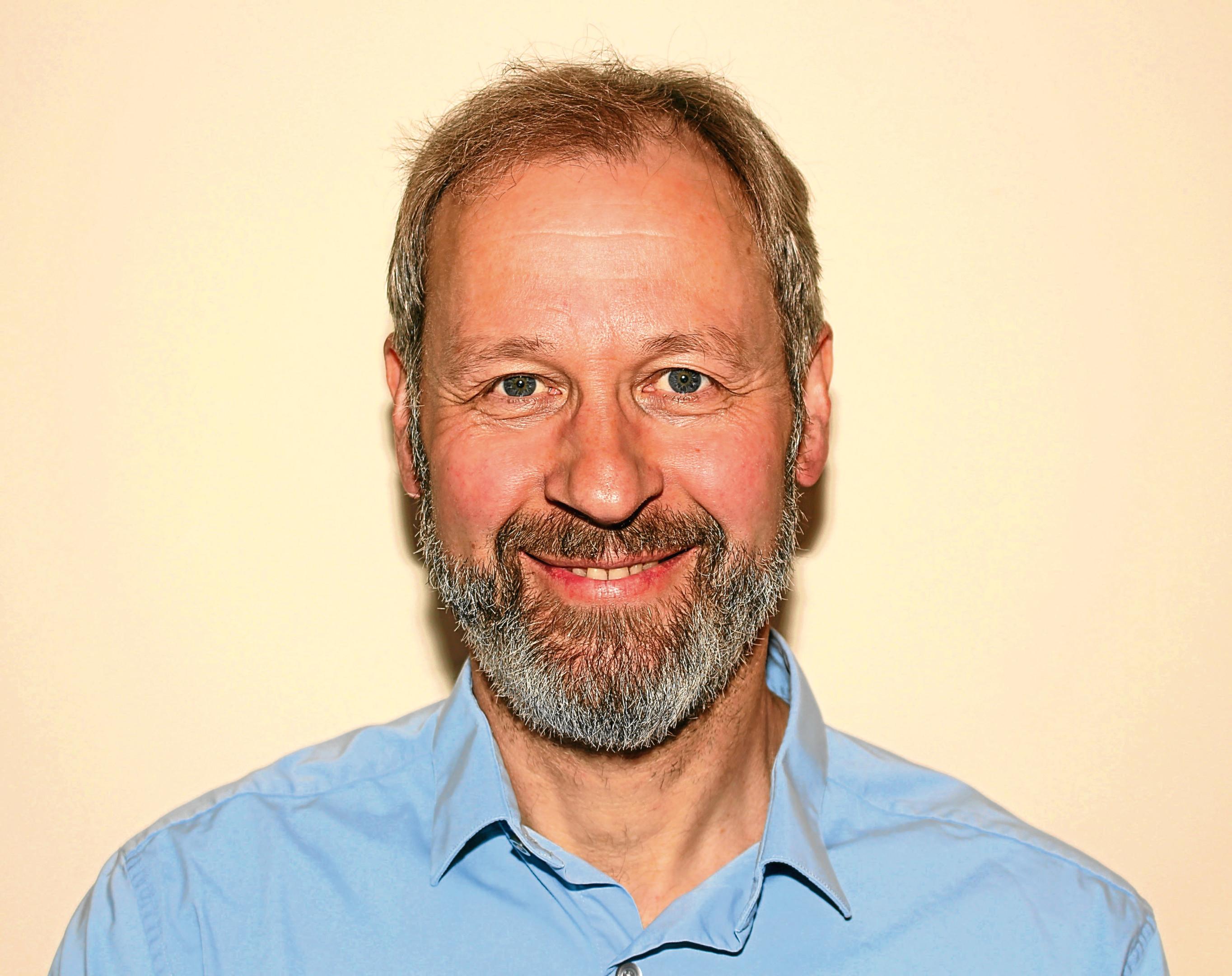Professor Iain Baikie, who runs KP Technology Ltd in Wick.