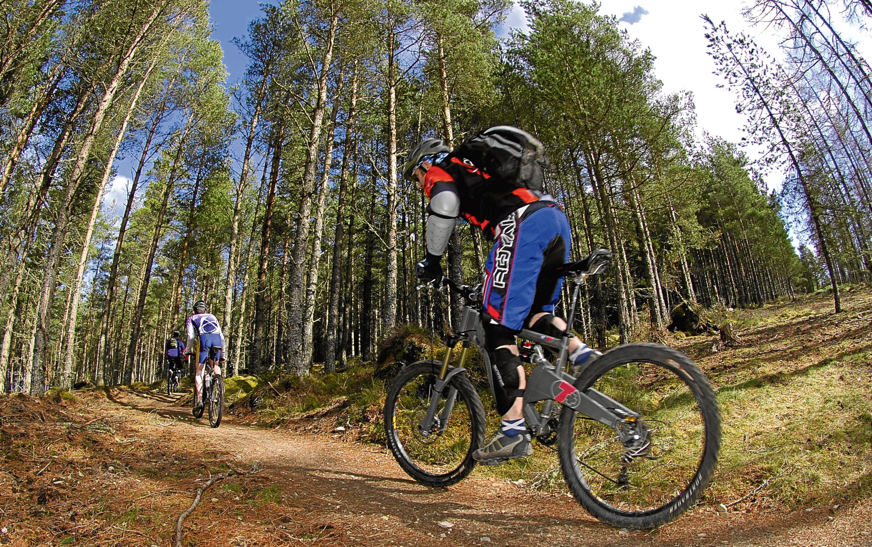 The campaign aims to tackle the growing problem of illegal mountain bike trails.