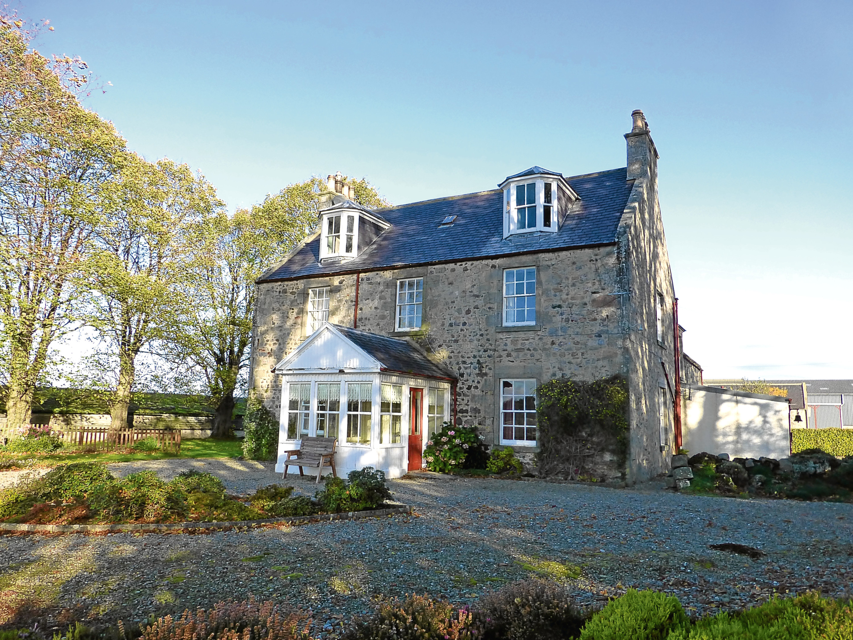 The farmhouse at Byres