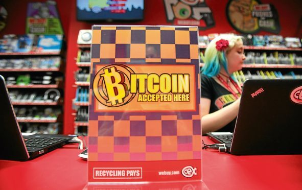 The CEX store on Sauchiehall Street in Glasgow were among the first retailers to trade exclusively in the virtual currency Bitcoin.
