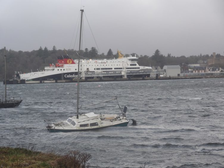 The Western Isles were hit hard by Storm Caroline