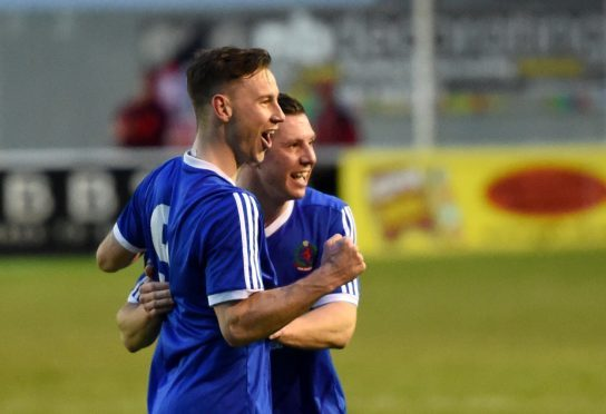 Mitch Megginson was on target for Cove Rangers.