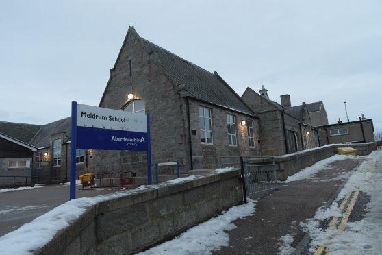 Meldrum Primary, where Meldrum After School Klub is based.