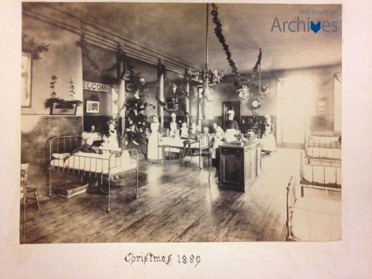 Aberdeen Hospital for Sick Children, 1889