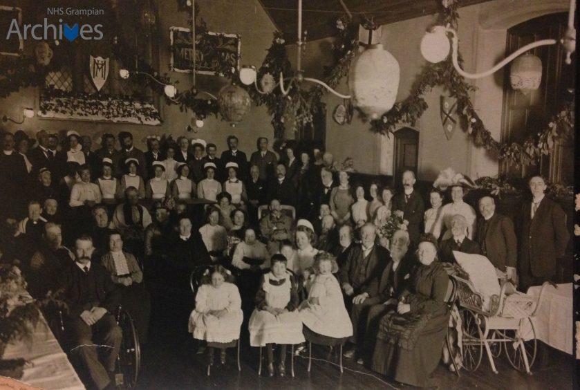 Morningfield Hospital, Christmas 1911