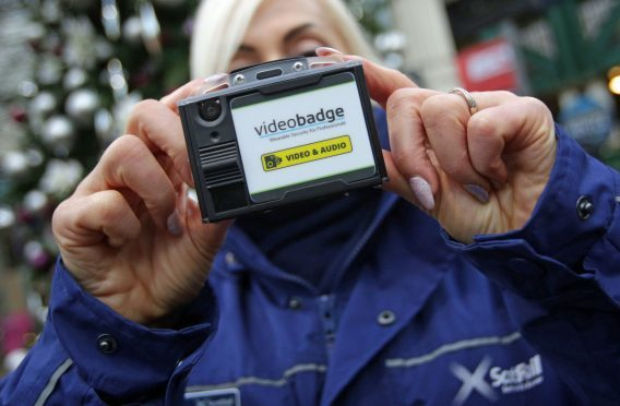 ScotRail staff to carry body-worn cameras. Photo credit: David Cheskin