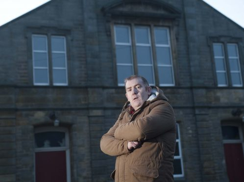 Glen Campbell, the director of Buckie Community Theatre