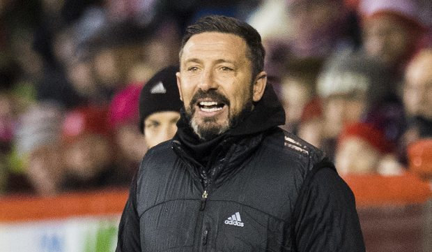 Derek McInnes is chasing a second-place finish.