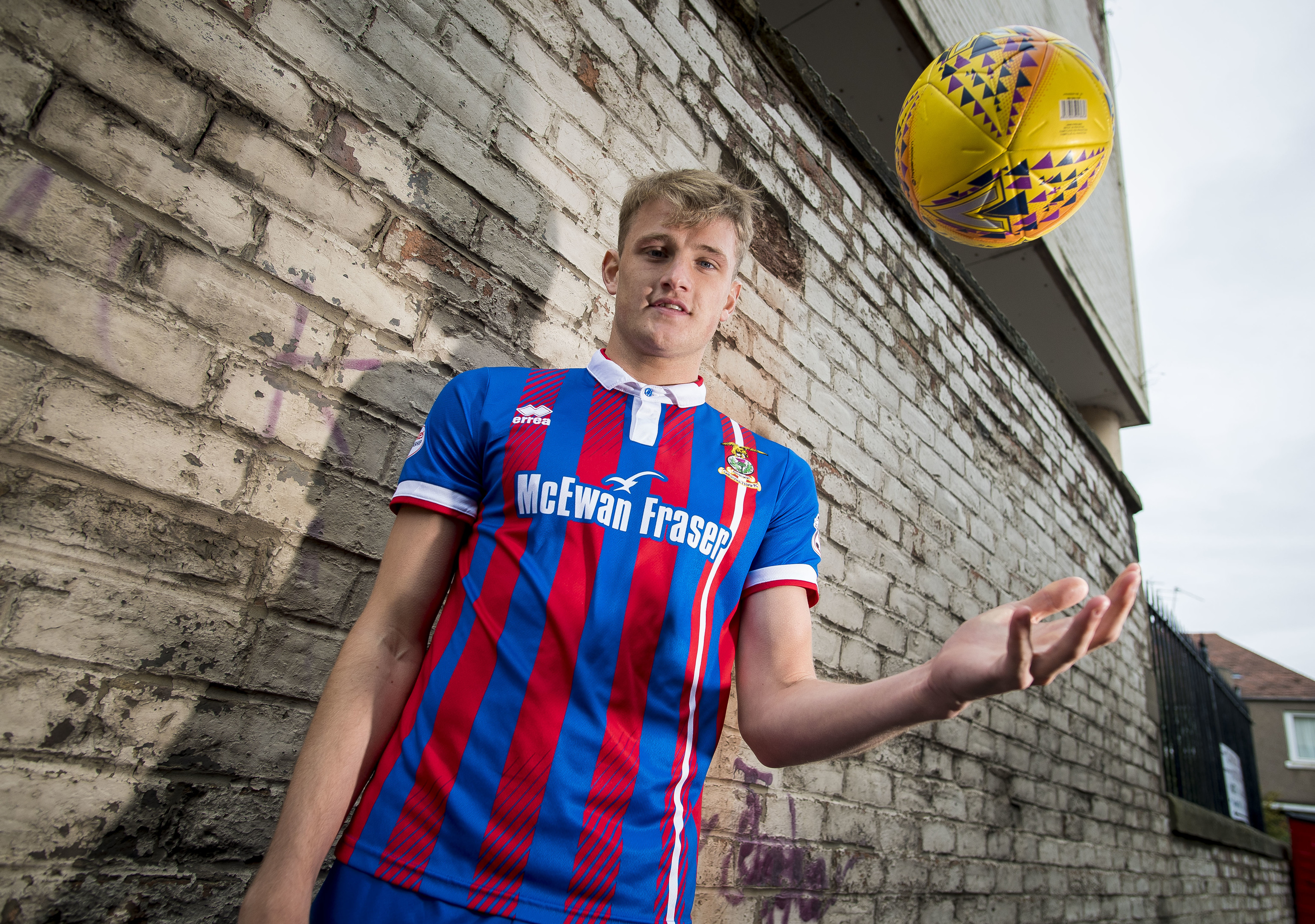 Coll Donaldson has been a key player for Caley Thistle.