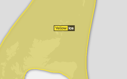 Met Office has issued a warning
