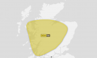 Yellow Weather Warning over Christmas