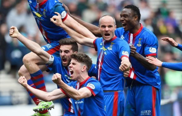 Caley Thistle knocked out Celtic in the semi-final in 2015 en route to winning the cup.