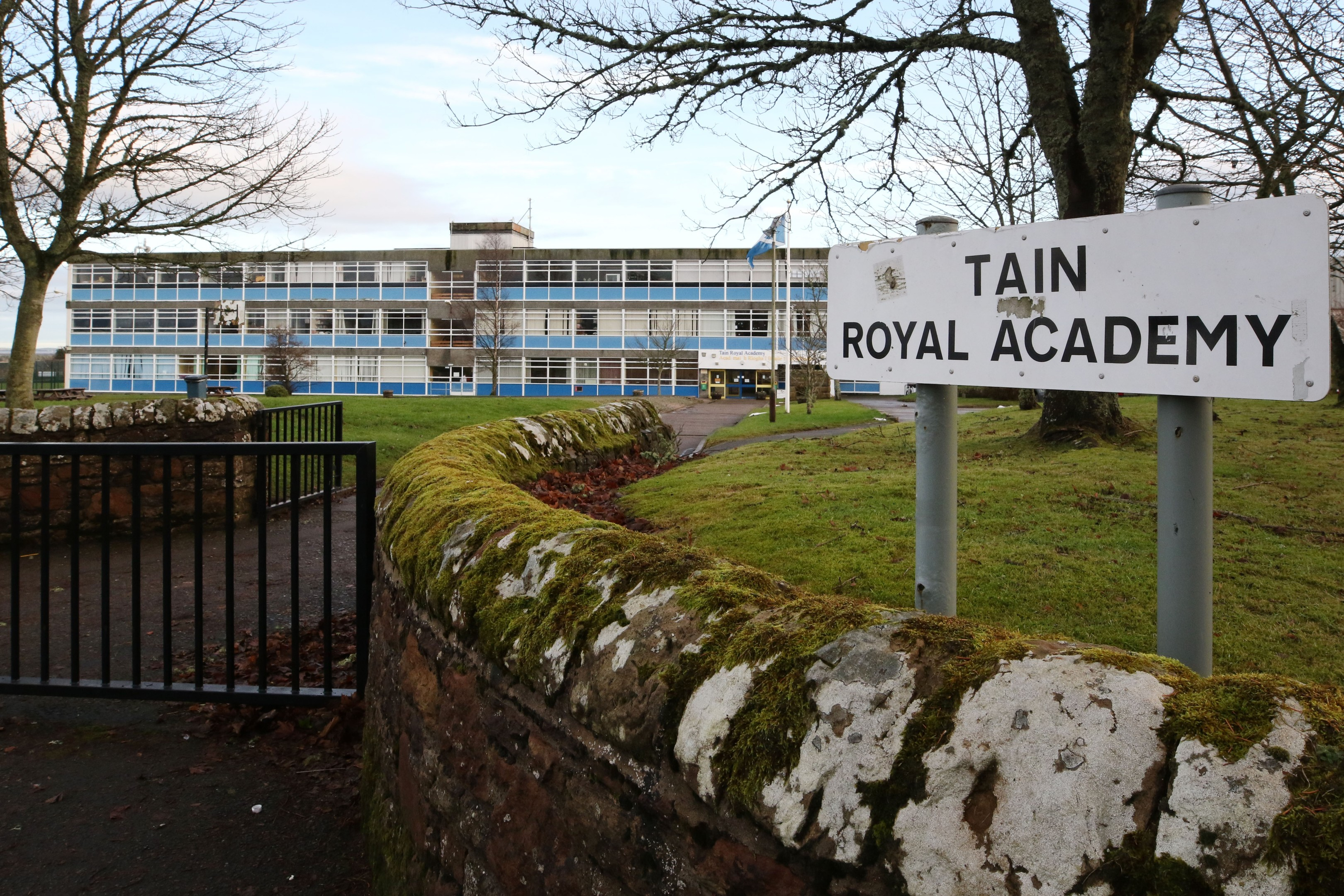 Tain Royal Academy is a proposed site for the new school.