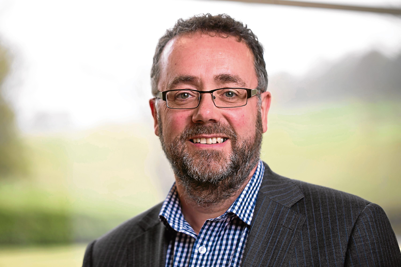 Managing director Andy Underwood