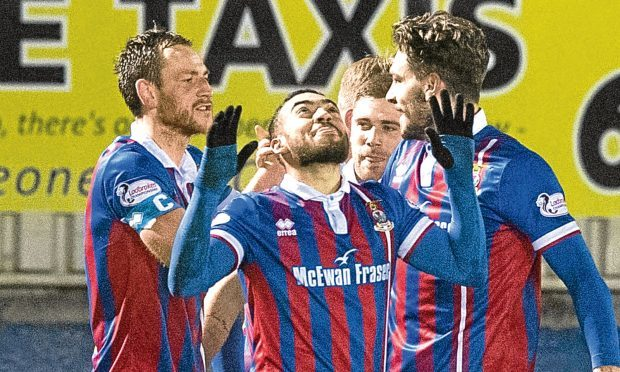 Jake Mulraney left Caley Thistle in 2018.