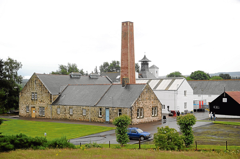 Dallas Dhu Distillery near Rafford, Forres.
