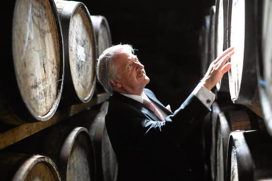 Dalmore distillery master distiller Richard Paterson
