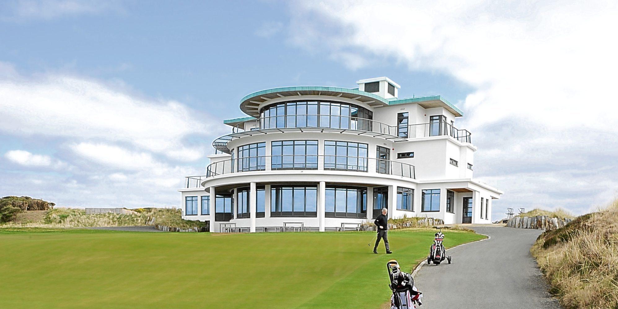 Castle Stuart golf course, near Inverness