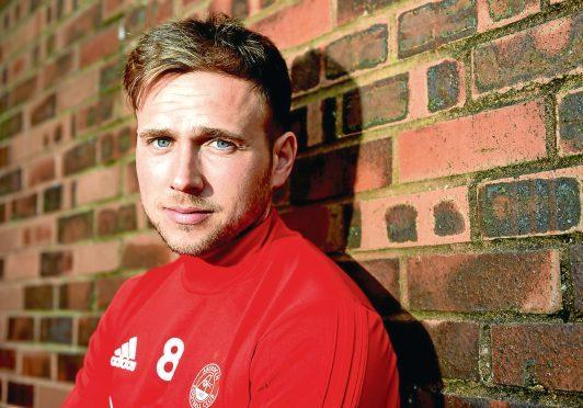 Greg Stewart returned to Aberdeen after a loan spell at Kilmarnock.