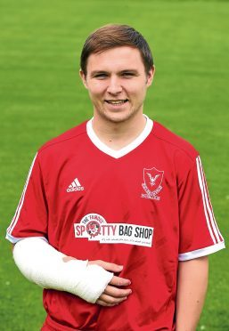 Press and Journal Hghland League ;   Deveronvale FC   Player - Dane Ballard.       Pictured by Kami Thomson    30-07-16