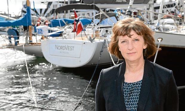 Sandra Laurenson, Lerwick Port Aurthority    PICTURE BY DAVE DONALDSON