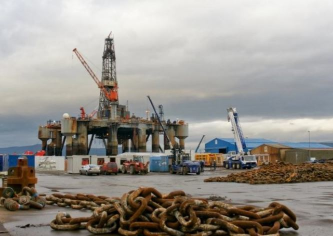 Ocean Princes at Port of Cromarty Firth