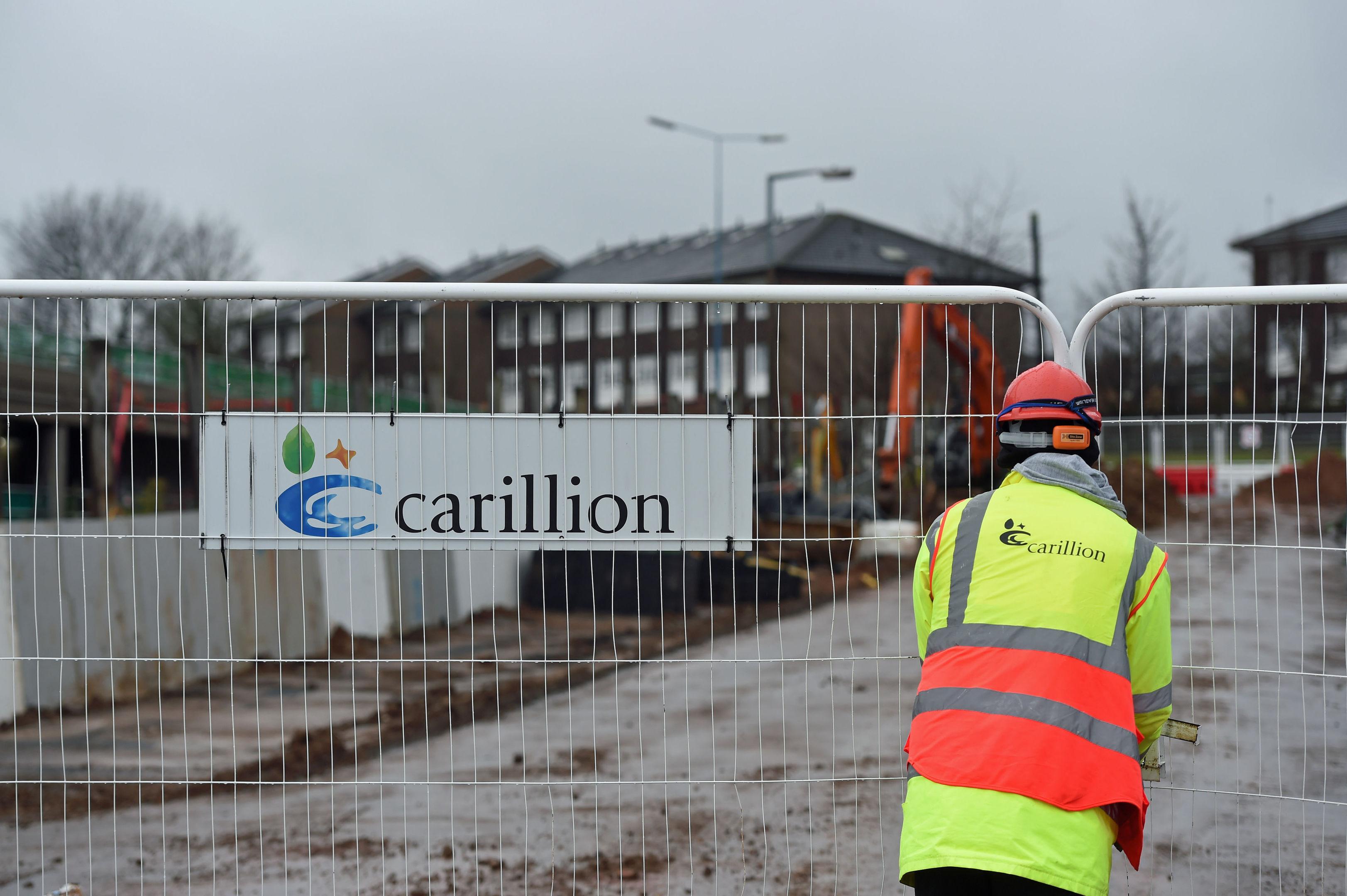 Carillion loss hits bank's profits