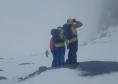 Rescuers on Ben Nevis