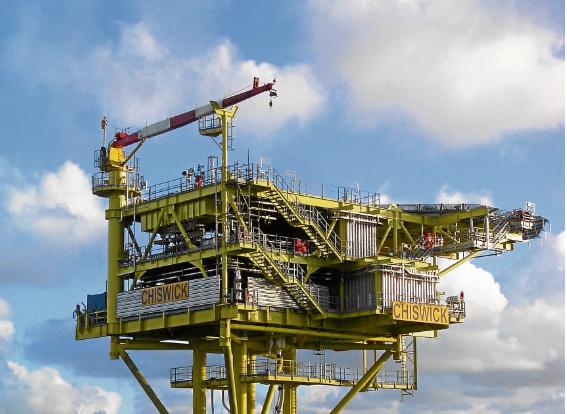 North Sea gas field to yield 50 billion cubic feet