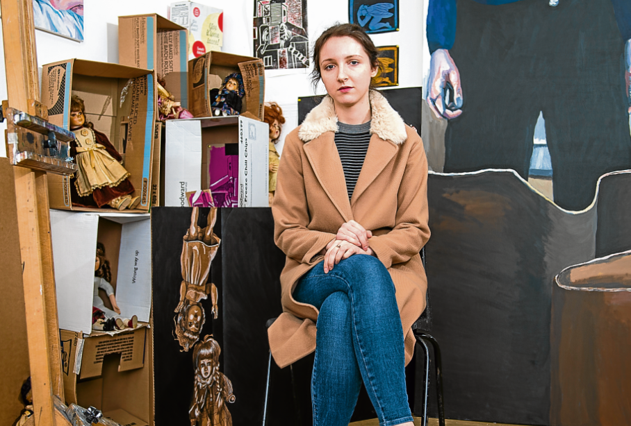 Moray students have thrown the doors open to their studios to showcase their lastest creations.