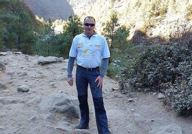 Charles Dewhurst on Everest trek